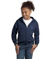 Youth Full Zip Sweatshirts - Navy